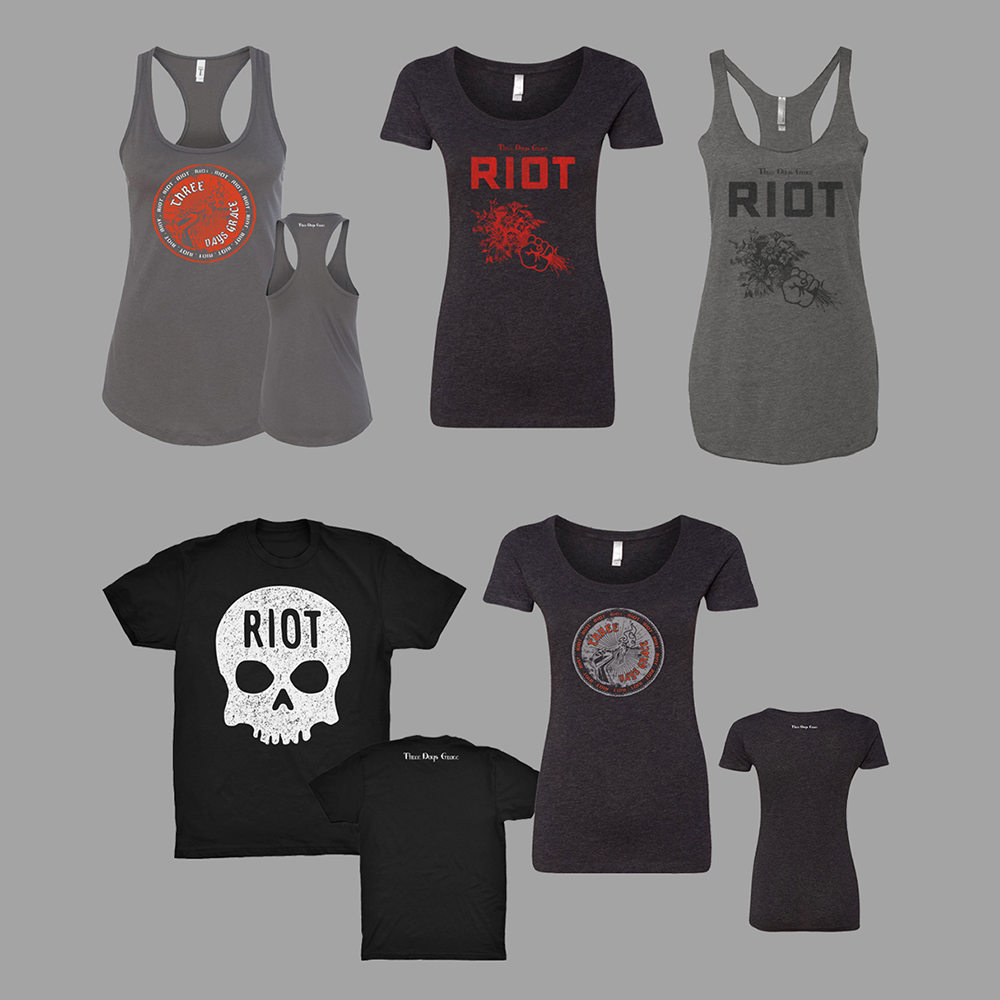 https://threedaysgrace.com/2017/11/06/riot-live-from-moscow-and-new-riot-merch/